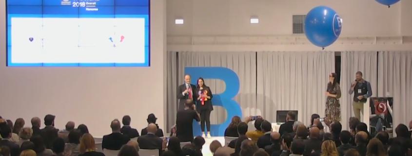 premiazione little genius b corp italian summit