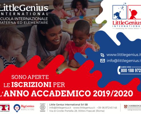 iscrizioni scuola 2019 2020