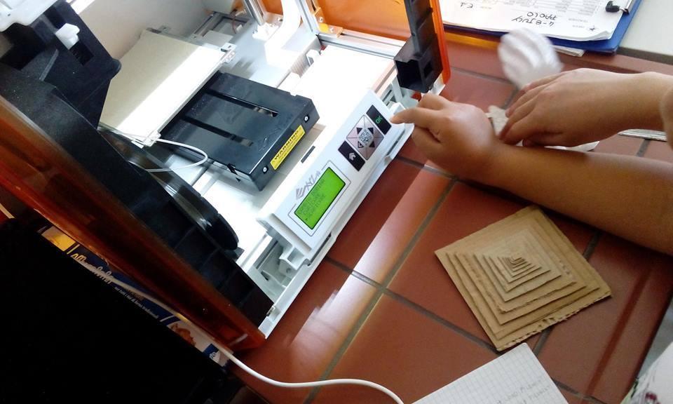 scuola estiva e stampa 3D