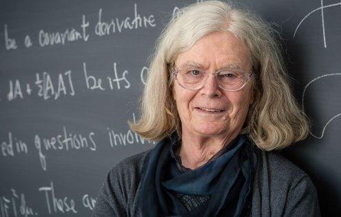 Karen Uhlenbeck, la scienziata insignita dell'Abel Prize per la matematica (afp)
